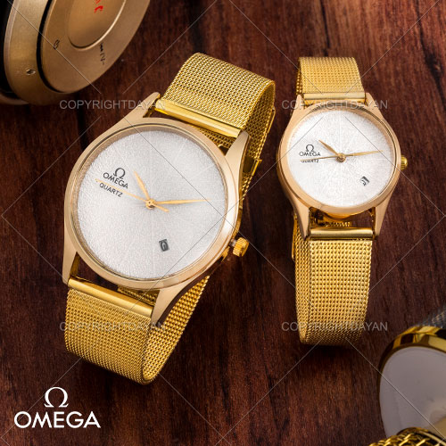 ست ساعت مچی مردانه و زنانه Omega مدل W9106