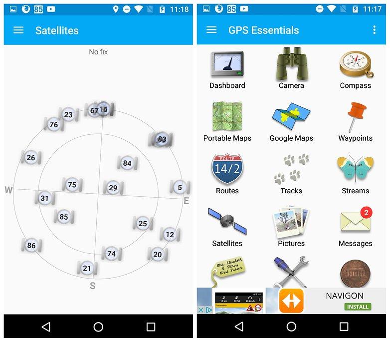 آموزش بهبود عملکرد GPS گوشی های اندرویدی