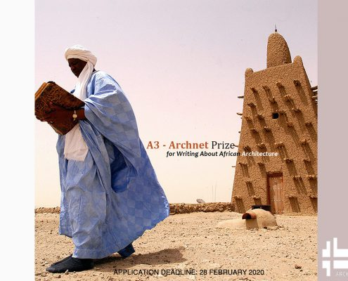 جایزه برای نوشتن مقاله درباره معماری آفریقا