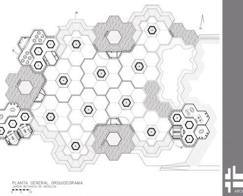 آرکسیوراما (شبکه ای شناور از سازه های مدرن درخت گل)