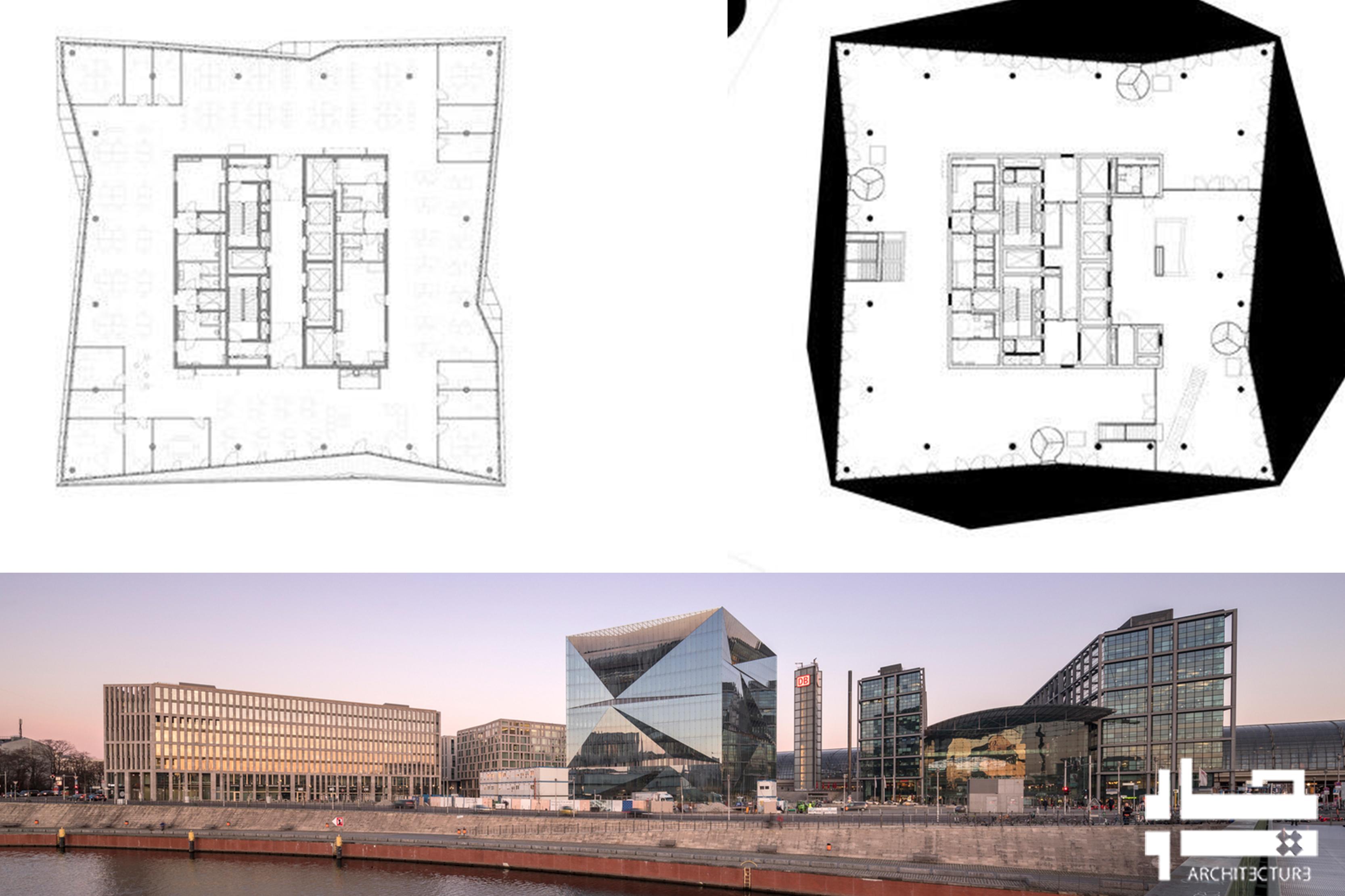 ساختمان اداری هوشمند مکعب برلین
