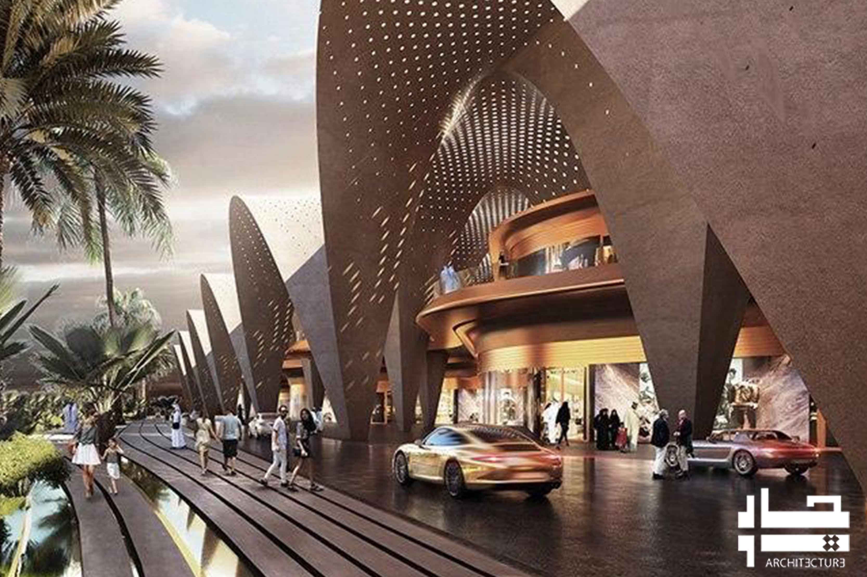 رونمایی از بازسازی مرکز خرید در امارات متحده عربی